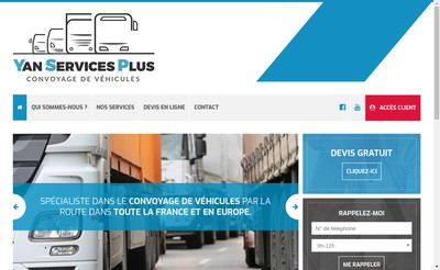 Site internet de Yan Services Plus