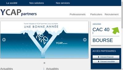 Site internet de Ycap Partners