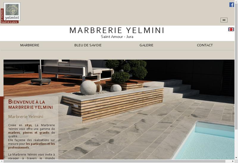 Capture d'écran du site de Yelmini Artaud SAS