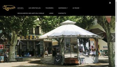 Site internet de Zampanos