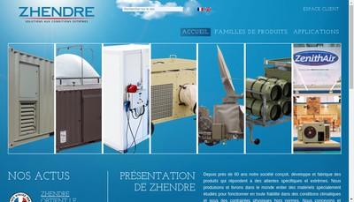Site internet de Zhendre