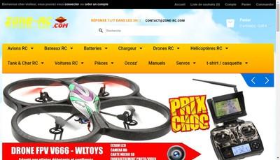 Site internet de Zone-Rc Com