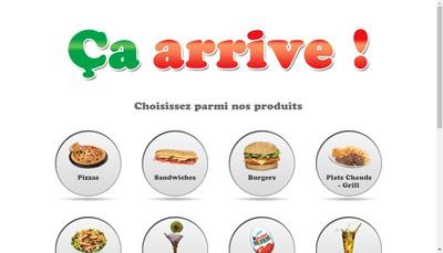 Site internet de Ca Arrive