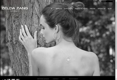 Site internet de Zelda Zang