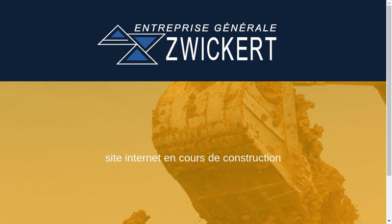 Capture d'écran du site de Zwickert