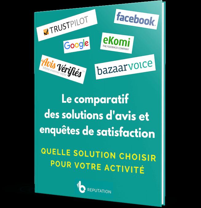 Le comparatif des solutions d'avis clients et enquêtes de satisfaction